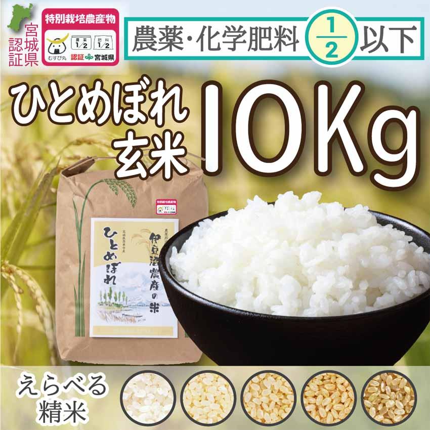 節減米玄米10Kg