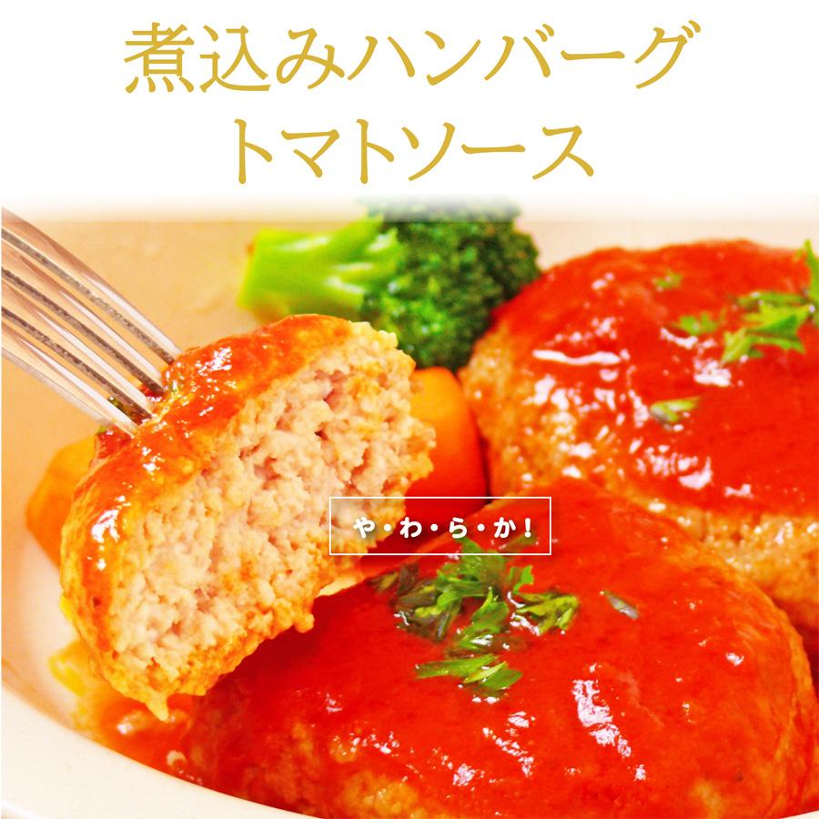 ハンバーグトマトソースLP1