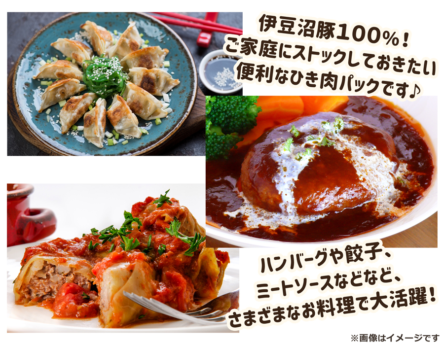 伊豆沼豚 ひき肉