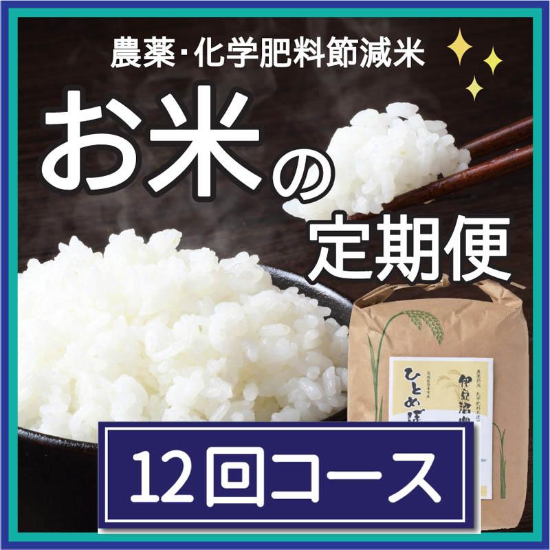 お米の定期便3㎏×6回